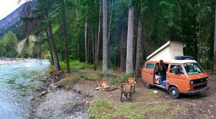 Vanlife Camping in the Canadian Rockie Mountains